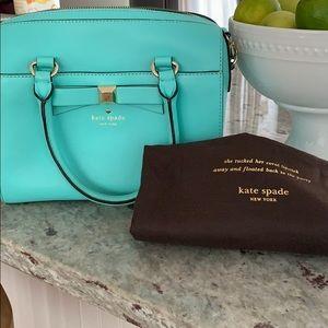 Kate Spade aqua purse